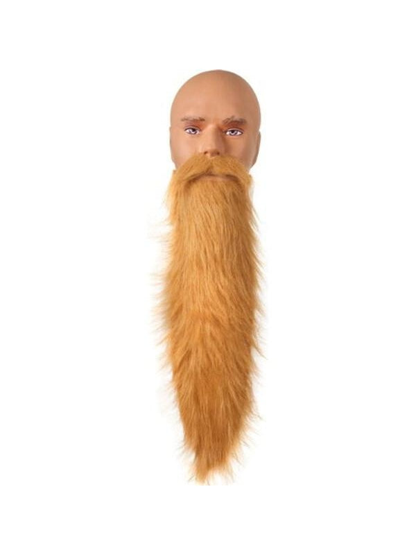 Adult Blonde ZZ Top Beard-COSTUMEISH