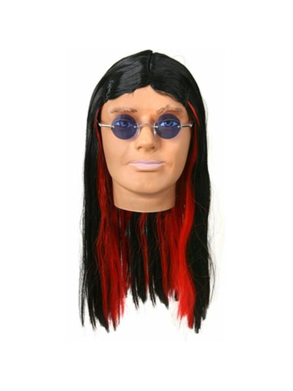 Deluxe Heavy Metal Ozzy Wig-COSTUMEISH