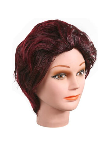 Gothic Red & Black Sharon Wig