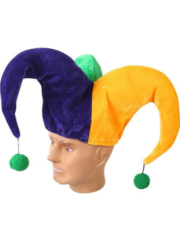 Adult Mardi Gras Jester Hat-COSTUMEISH