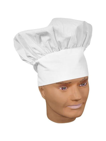 Adult White Chef Hat