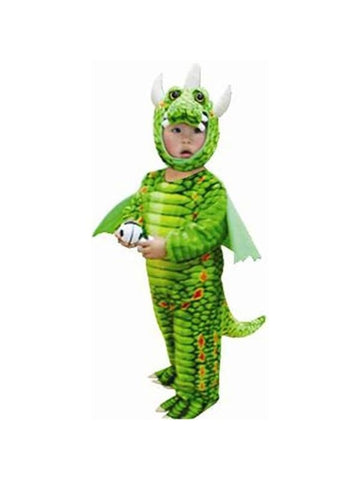 Toddler Green Triceratops Costume