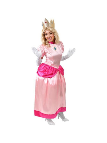 Adult Peachy Princess Costume
