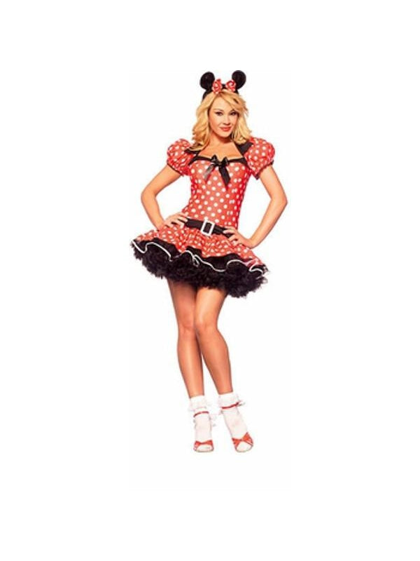Adult Sexy Miss Mouse Costume-COSTUMEISH