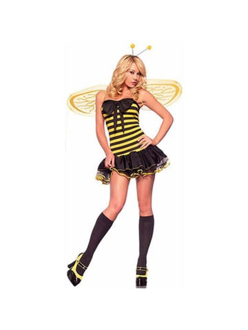 Adult Sexy Bumble Bee Costume-COSTUMEISH