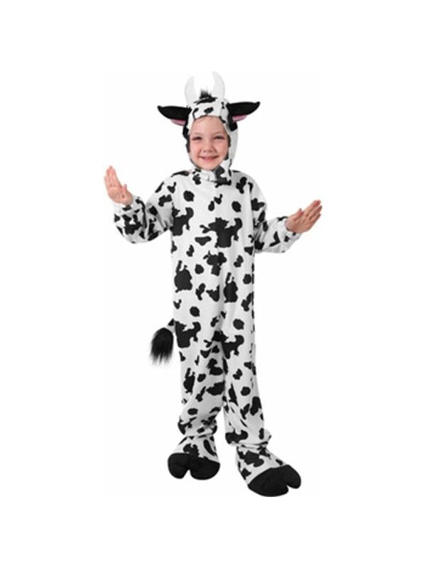 Child Classic Cow Costume-COSTUMEISH