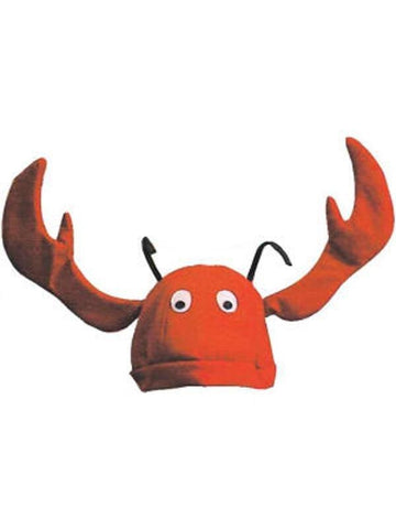 Velvet Lobster Hat With Flapping Claws-COSTUMEISH