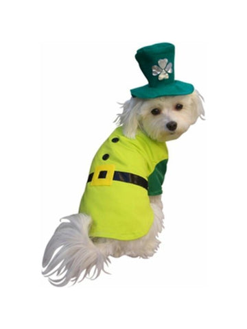 Leprechaun Boy Dog Costume-COSTUMEISH