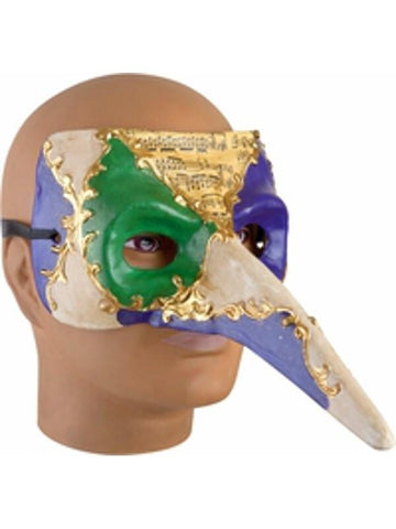 Mardi Gras Casanova Mask-COSTUMEISH