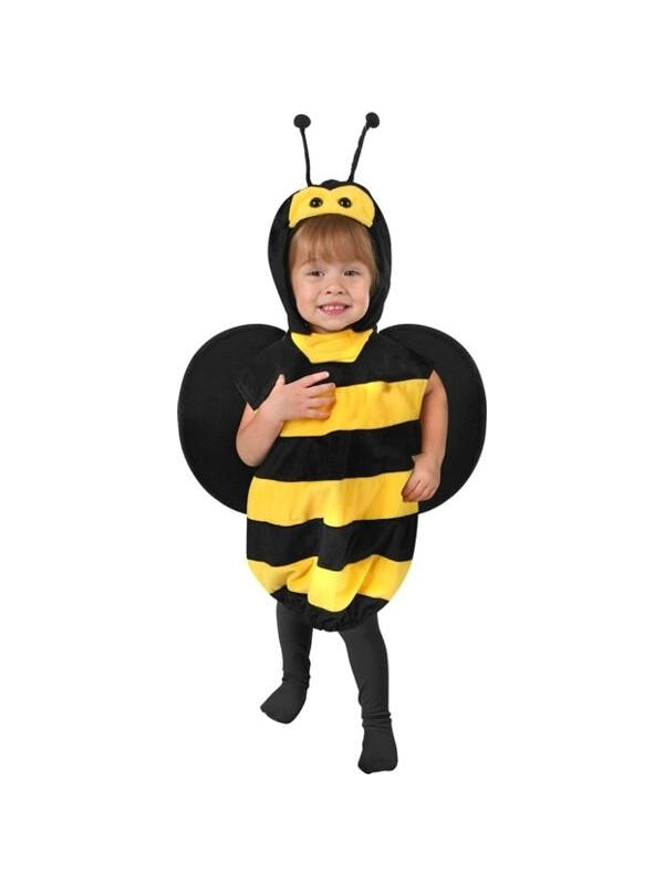 Toddler Plush Bee Costume-COSTUMEISH