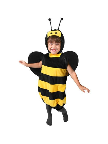 Plush Child's Bee Costume-COSTUMEISH