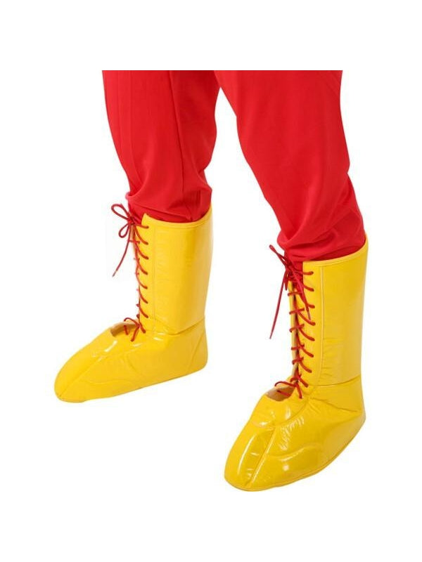 Adult Yellow Hulk Boot Top Covers-COSTUMEISH