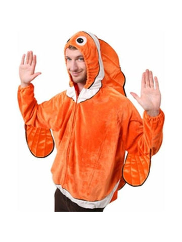 Adult Clown Fish Costume Jacket-COSTUMEISH