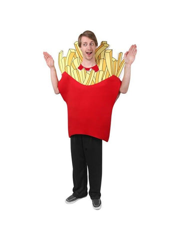 Adult French Fry Costume-COSTUMEISH
