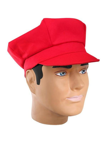 Red Mario Costume Hat