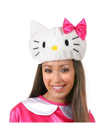 Adult Cartoon Kitty Costume Hat