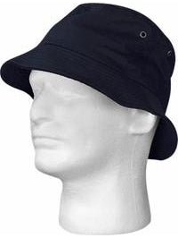 Adult Black Bucket Hat