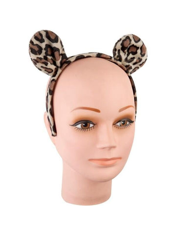 Adult Leopard Costume Headband-COSTUMEISH