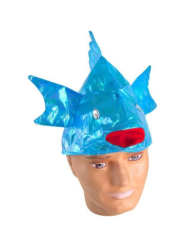 Colorful Iridescent Fish Hat