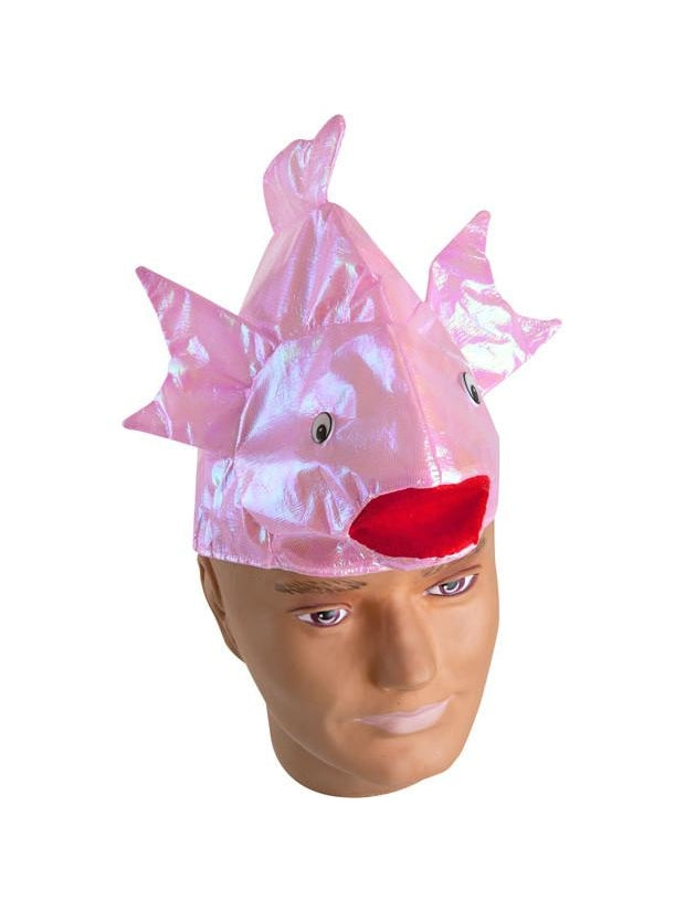 Colorful Iridescent Fish Hat-COSTUMEISH