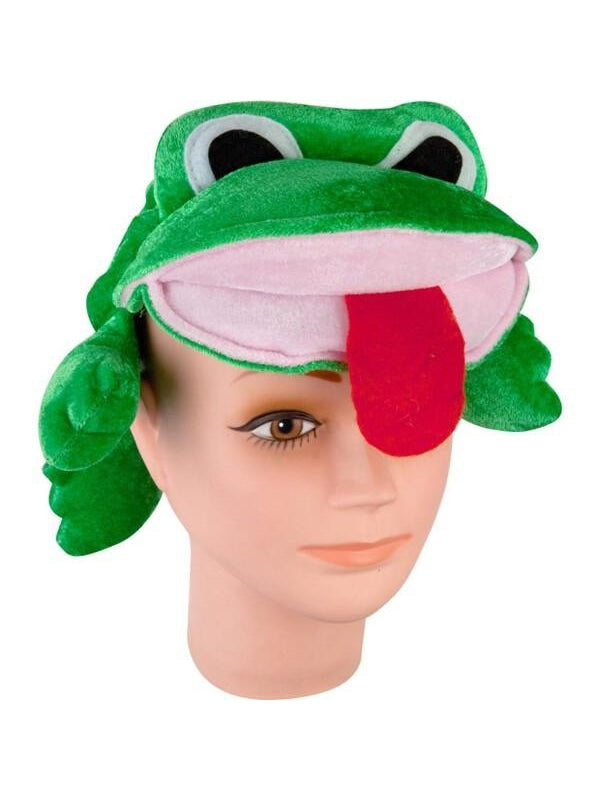 Velvet Frog Hat-COSTUMEISH
