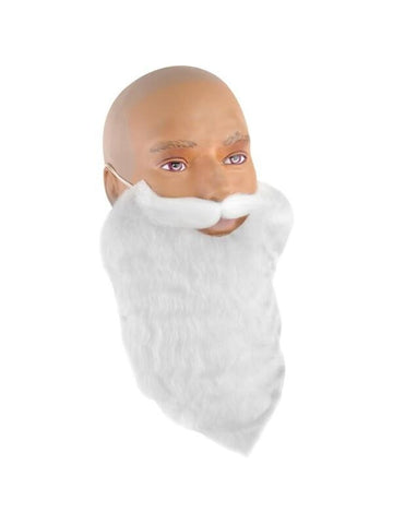 White Gnome Costume Beard