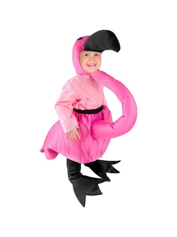 Toddler Flamingo Costume-COSTUMEISH