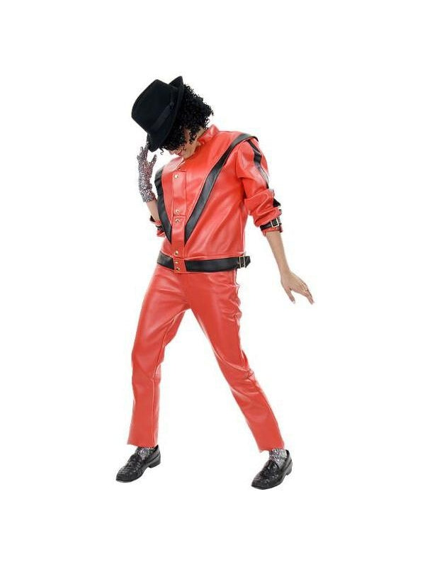 Adult Red Thriller Jacket-COSTUMEISH