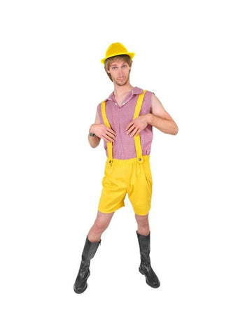 Adult Bruno Yellow Costume