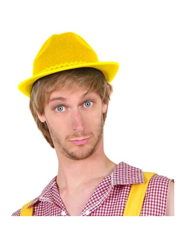 Yellow Bruno Hat-COSTUMEISH