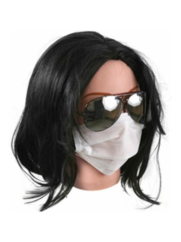 King of Pop Costume Wig-COSTUMEISH