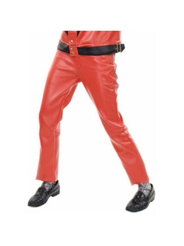 Adult King of Thrills Red Costume Pants-COSTUMEISH