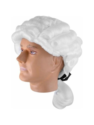 Adult Classic Colonial Barrister Wig-COSTUMEISH