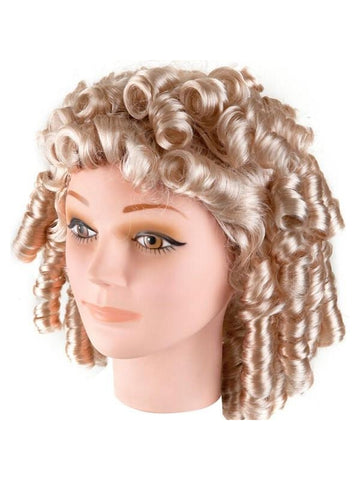 Adult Shirely Temple Costume Wig-COSTUMEISH