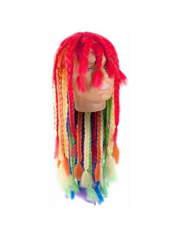 Adult Rainbow Pride Wig