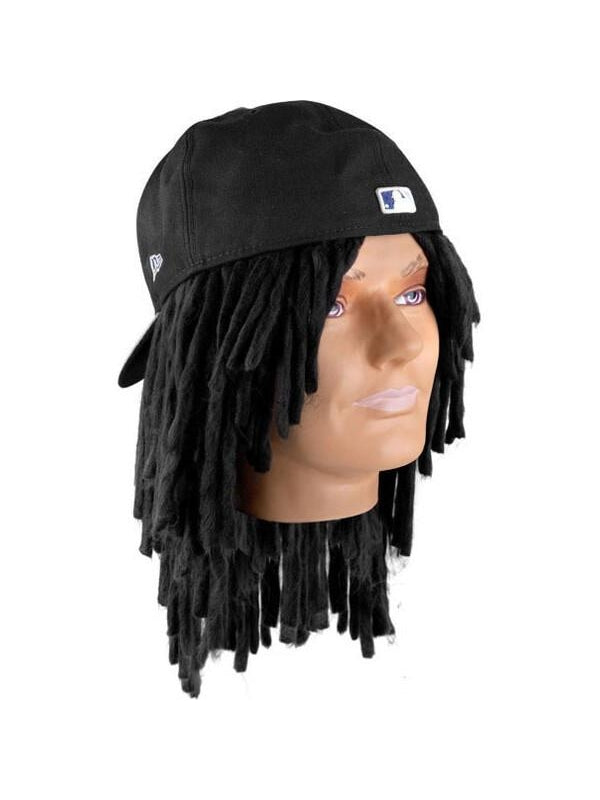 Juiced Up Baseball Player Dreadlock Wig-COSTUMEISH