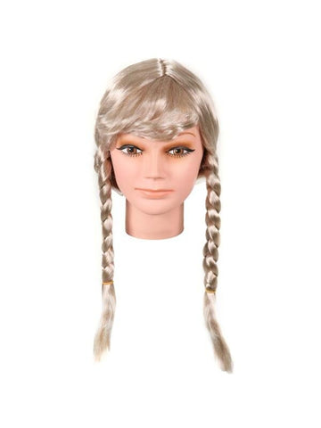 Adult Blonde Dutch Girl Wig