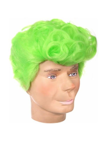 Adult Green Cartoon Costume Wig