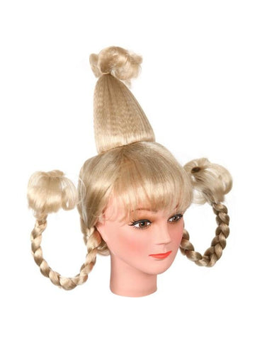 Whoville Girl Costume Wig-COSTUMEISH