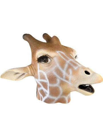 Giraffe Latex Mask-COSTUMEISH