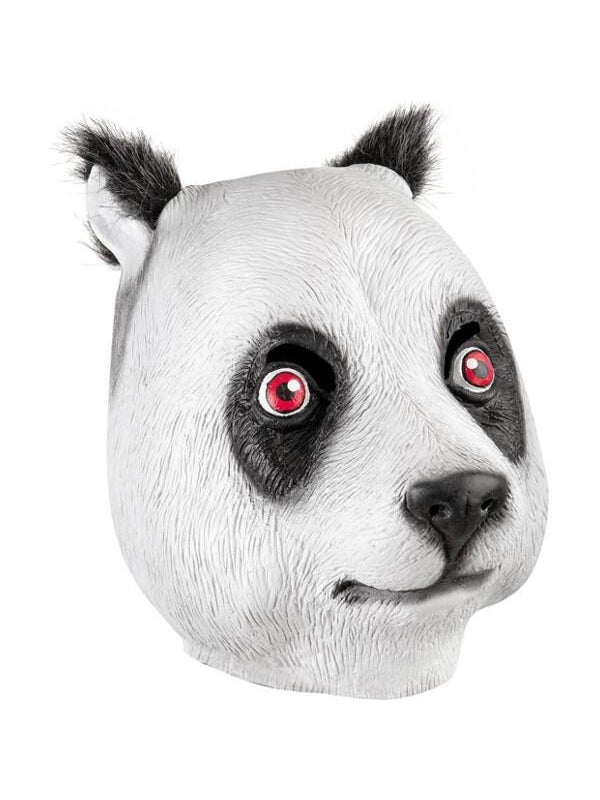 Panda Latex Mask-COSTUMEISH