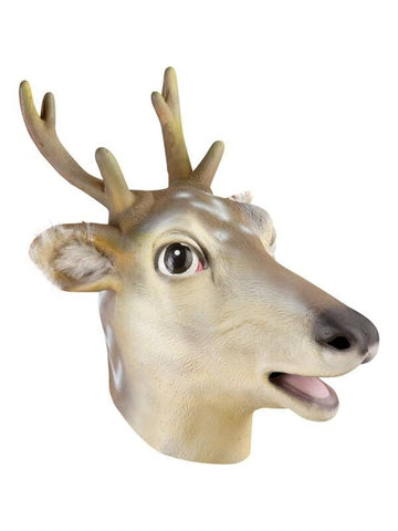 Reindeer Latex Mask-COSTUMEISH