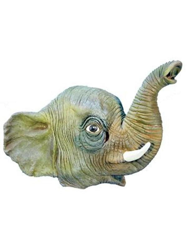 Elephant Latex Mask-COSTUMEISH