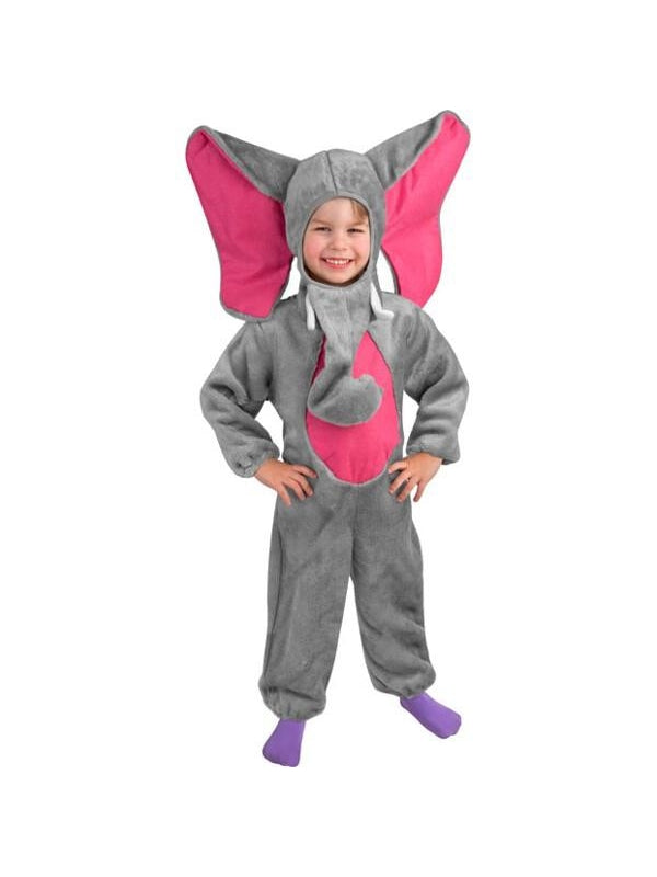 Toddler Grey Elephant Costume-COSTUMEISH