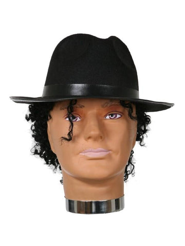 Adult Blues Brothers Fedora Hat-COSTUMEISH