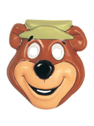 Yogi Bear PVC Costume Mask-COSTUMEISH