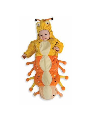 Baby Yellow Caterpillar Costume-COSTUMEISH