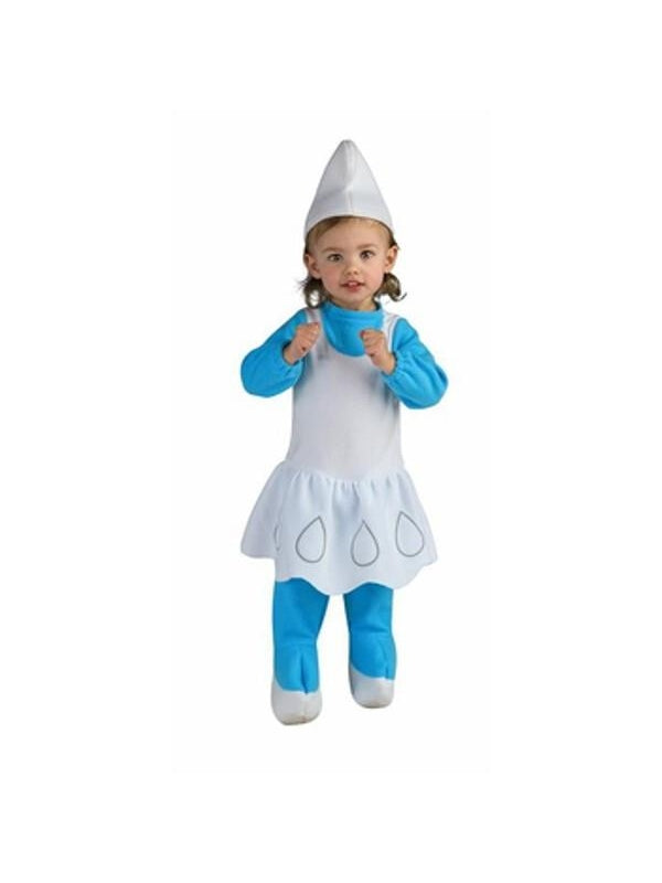 Toddler Smurfette Costume-COSTUMEISH