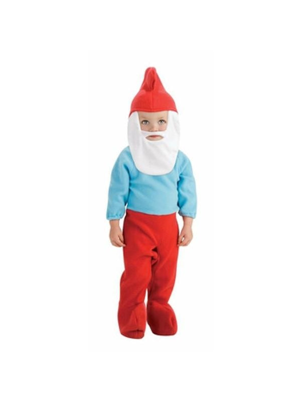 Toddler Papa Smurf Costume-COSTUMEISH