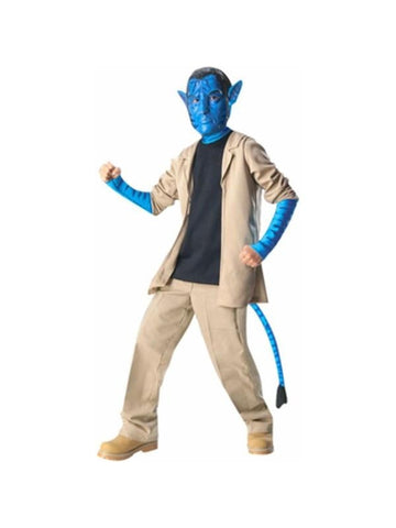 Child's Deluxe Avatar Jake Sully Costume-COSTUMEISH